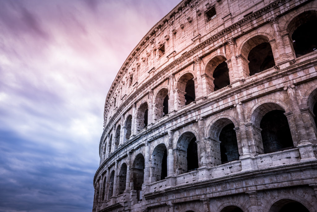 Travel - Rome - Colosseum