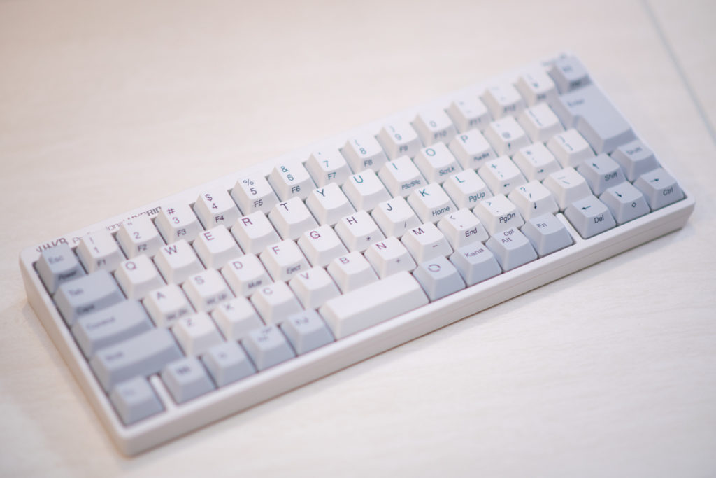 PFUのHappy Hacking Keyboard (HHKB) Professional Hybrid Type-S で超高速タイピングを実現